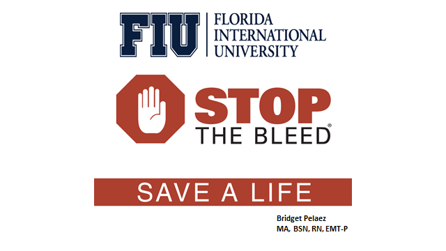 Stop the Bleed with Bridget
